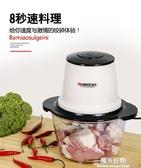 絞肉機打肉機家用電動絞菜餡機多功能絞肉餡機器攪碎肉機切菜神器220vNMS陽光好物