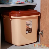 大號40斤儲糧桶儲米箱無縫密封防蟲防潮塑料面粉箱【倪醬小舖】