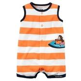 超低折扣NG商品~嬰兒無袖連身衣  鯊魚雙色背心兔裝 春夏童裝 LZ2237 好娃娃