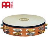 【小叮噹的店】全新 公司貨 德國 MEINL TAH2M-SNT 10吋 木製鈴鼓(羊皮)  M-TAH2M