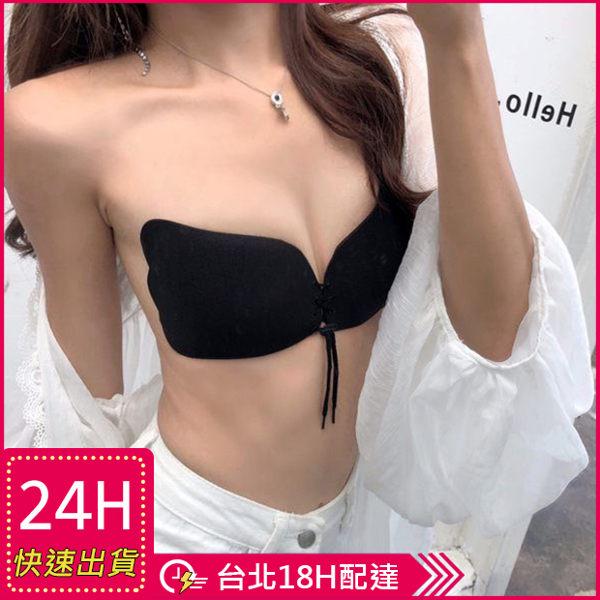 【現貨】梨卡 -【女人我最大狂推】布面無痕加厚UPUP芒果胸貼NU BRA隱形胸罩C5054
