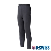 K-SWISS Slim Fit Logo Pants運動長褲-男-黑