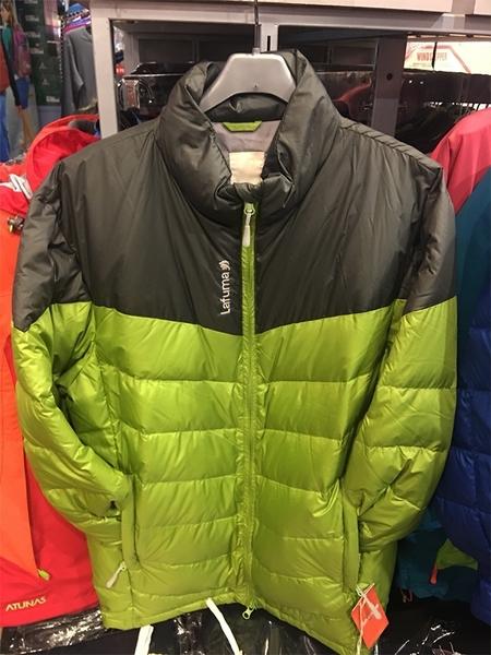 Lafuma 法國品牌  防潑水羽絨外套/夾克  灰綠色