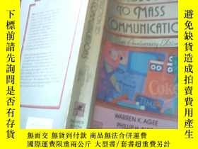 二手書博民逛書店INTRODUCTION罕見TO MASS COMMUNICAT