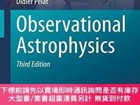 二手書博民逛書店Observational罕見AstrophysicsY255174 Pierre Léna Springer