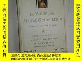 二手書博民逛書店THE罕見VOICE OF THE RISING GENERATION 【644】Y10970 JAMES E
