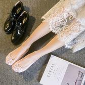 襪子 成人 淺口 隱形襪子 矽膠防滑 無痕 蕾絲 花邊 船襪