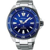 廣告款 SEIKO精工 Prospex 200米潛水愛海洋藍鯨機械錶-45mm 4R35-01X0B(SRPC93J1)