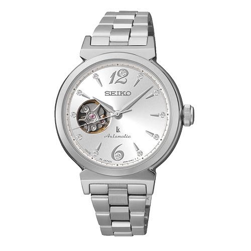 SEIKO LUKIA Mechanical 時尚耀眼機械女腕錶/白面/4R38-00N0N(SSA891J1)