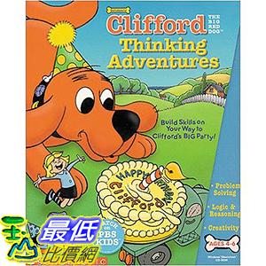 [106美國暢銷兒童軟體] Clifford Thinking Adventures
