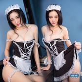 制服誘惑情趣內衣性感小胸露乳女仆激情用品誘惑女傭制服夜店透視套裝sm騷