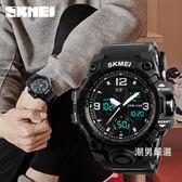 時刻美手錶男學生電子錶數字式運動手錶青少年鬧鐘防水智慧中學生