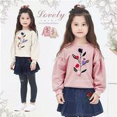 新年-秋葉繽紛~彩球裝飾花葉設計上衣-優質推薦(260356)★水娃娃時尚童裝★