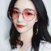《Caroline》★年度最新網紅款潮流行時尚百搭明星抗UV太陽眼鏡 70663標檢局D74321
