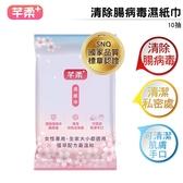 【買30送30】芊柔 清除腸病毒濕紙巾 10抽