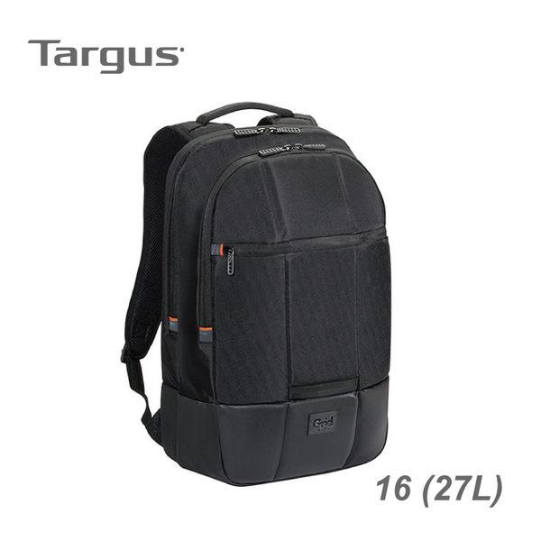 【加也】Targus Grid™ Essential 黑盾 I 16 吋電腦後背包 (27L) 筆電包 電腦包