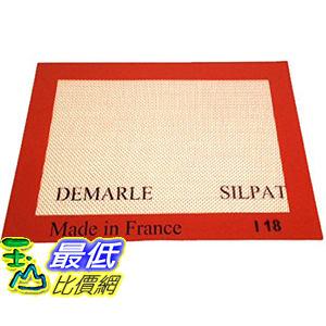 [104美國直購] Silpat 烘焙墊 AE275200-01 Non-Stick Silicone Baking Mat, 20x27.5 法國製 烤箱墊
