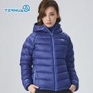 TERNUA 女PERTEX羽絨連帽保暖外套1643061 ( 登山 露營 旅遊健行)