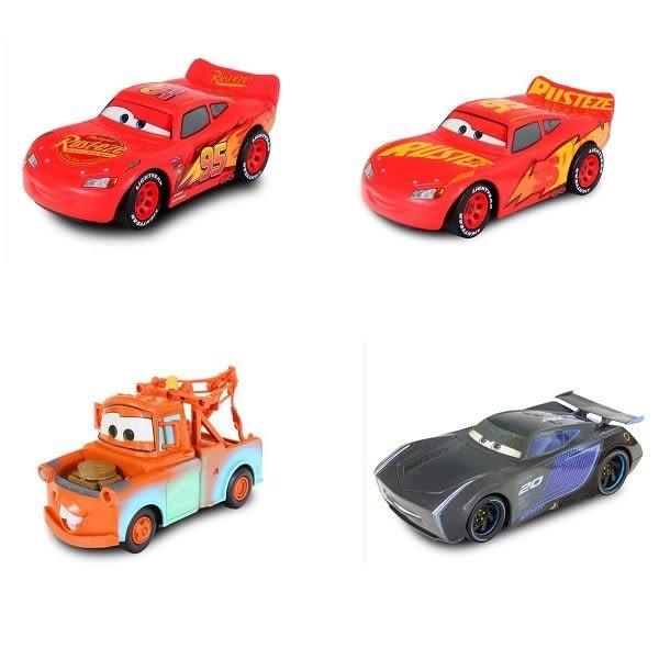《 汽車總動員 Cars 》閃電麥坤 - 簡易遙控車 ( 四款可選 ) ╭★ JOYBUS玩具百貨