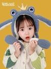 兒童耳罩 青蛙耳罩一捏耳朵會動冬季男女兒童可愛保暖凍耳暖耳包耳捂子【快速出貨八折鉅惠】