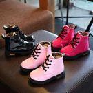 短靴大童靴子公主單靴 兒童短靴 馬丁靴雪靴寶寶聖誕禮物【莎芭】