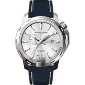 GIORGIO FEDON 1919 永恆系列運動版機械錶-銀x藍/45mm GFCI004