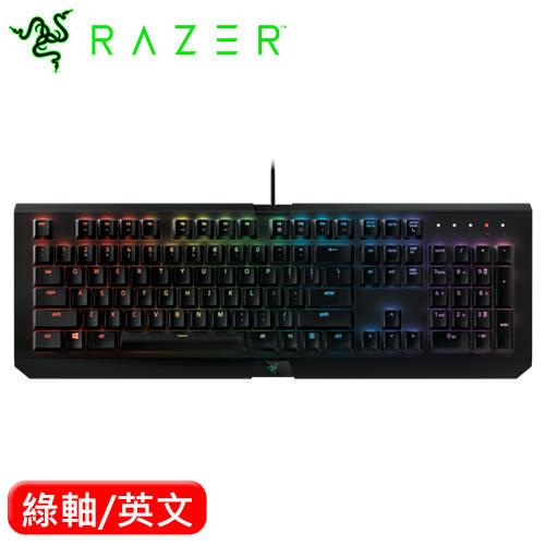 Razer 雷蛇 Blackwidow X Chroma 黑寡婦 機械鍵盤 綠軸