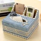多功能紙巾盒歐式抽紙盒紙抽盒家用客廳桌面茶幾遙控器收納盒布藝 黛尼時尚精品