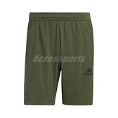 adidas 短褲 AEROREADY 3-Stripes 8-Inch Shorts 綠 黑 男款 運動褲 運動休閒 【ACS】 GM0644