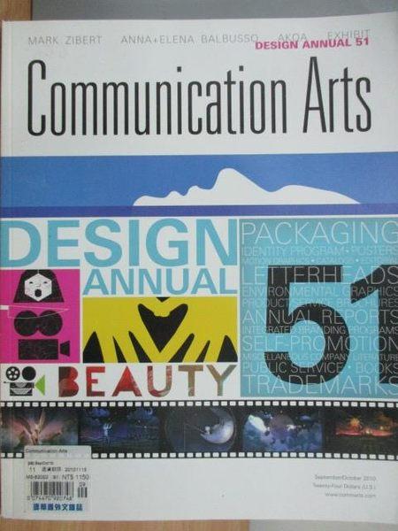 【書寶二手書T8/設計_ZJF】Communication Arts_2010/9-10