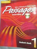 【書寶二手書T2/語言學習_YGB】Passages: Book 1_Richards_附光碟