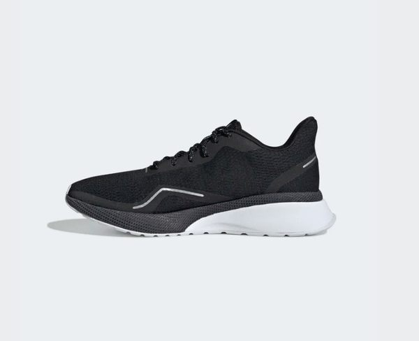Adidas NOVA RUN X SHOES 女款黑色透氣運動慢跑鞋-NO.EE9929
