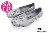 skechers女鞋 水陸鞋 H2 GO系列 透氣輕量洞洞鞋N8296 零碼出清#灰色◆OSOME奧森童鞋