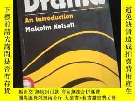 二手書博民逛書店Studying罕見Drama An Introduction (英文)Y16149