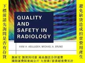 二手書博民逛書店Quality罕見And Safety In Radiology