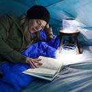 美國LUCI 世界首款 新款 太陽能防水手提燈 露營燈  元宵必備燈 可用USB充電 太陽能神燈-白光款