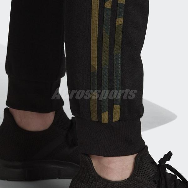 adidas 長褲 Camouflage Track Pants 黑 迷彩 男款 縮口褲 運動休閒 【ACS】 FM3360