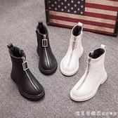 女童靴子20秋冬季新款兒童英倫風馬丁靴小女孩公主短靴春秋季單靴 美眉新品