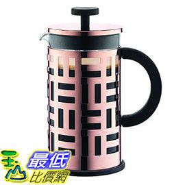 [107美國直購] 法式濾壓壺 Bodum 8 Cup 杯 Eileen Coffee Maker, 34 oz, Copper_CC21