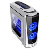 主機箱 航嘉 暗夜獵手3 ATX電腦機箱 臺式機電腦主機箱水冷游戲機箱 側透  ATF  魔法鞋櫃
