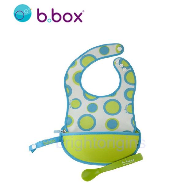 澳洲 b.box 旅行圍兜袋(綠圈圈)