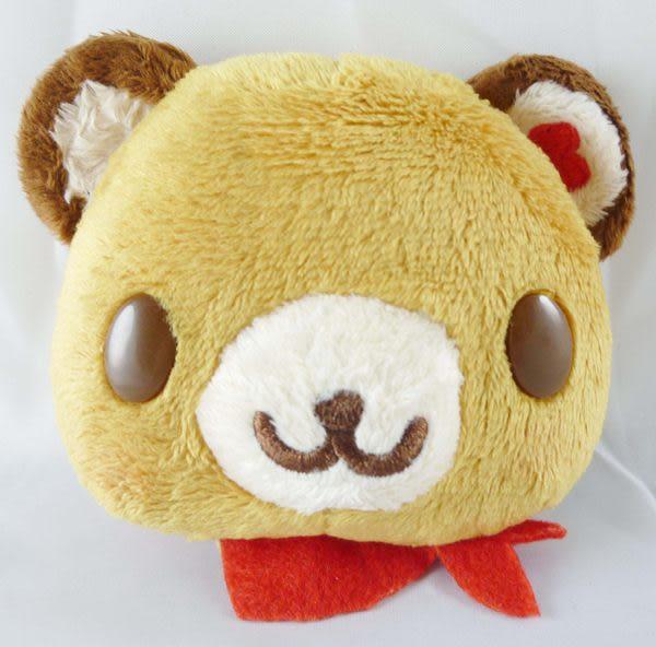 【震撼精品百貨】Tenorikuma 拿鐵熊~造型大臉零錢包『共兩款』