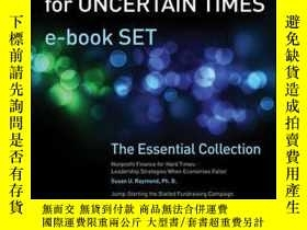 二手書博民逛書店Nonprofit罕見Leadership Tools for Uncertain Times e-book Se