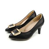 HUMAN PEACE 跟鞋 低跟 細跟 裝飾 可替換 黑色 女鞋 54548 no262