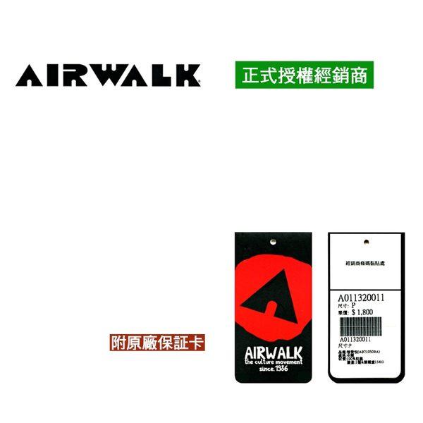 【橘子包包館】AIRWALK 美式潮流三叉釦尼龍後背包 1110371 黑配黃字