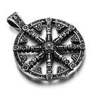 《QBOX 》FASHION 飾品【CPAA0045】精緻個性復古船舵鈦鋼鑄造鈦鋼墬子項鍊