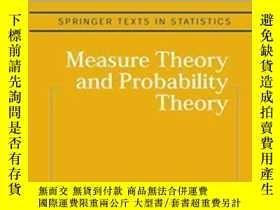 二手書博民逛書店Measure罕見Theory And Probability Theory-測度論與概率論Y436638 K