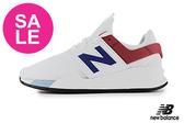 【出清下殺】New Balance 247 成人男款 限量時尚運動鞋 慢跑鞋 O8569#白色◆奧森