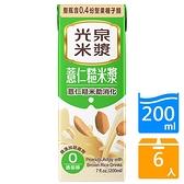 光泉薏仁糙米漿200ML x6入【愛買】
