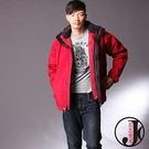 JORDON 男款 GORE-TEX防水透氣+極暖羽絨 二合一機能外套 #1075